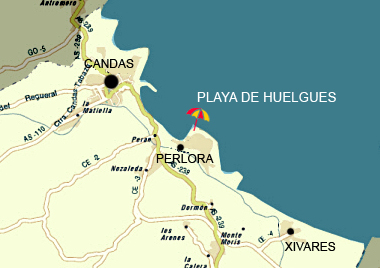 Playa de Huelgues